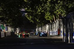 Lucas di Grassi, ABT Schaeffler Audi Sport, and Sébastien Buemi, Renault e.Dams, practice starts