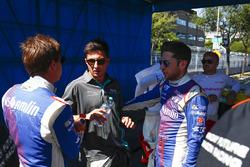 Антониу Феликс да Кошта, Amlin Andretti Formula E Team, Митч Эванс, Jaguar Racing, и Робин Фрейнс, A