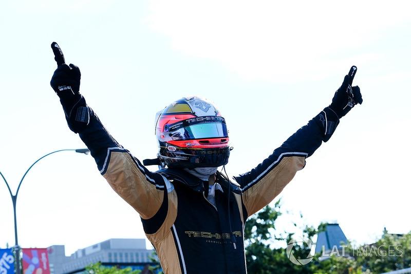 Race winner Jean-Eric Vergne, Techeetah