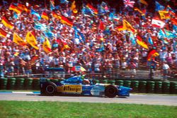 Михаэль Шумахер, Benetton B195 Renault