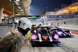 #1 Porsche Team Porsche 919 Hybrid: Timo Bernhard, Mark Webber, Brendon Hartley, #2 Porsche Team Por