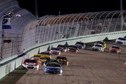 Jimmie Johnson, Hendrick Motorsports Chevrolet toma la victoria