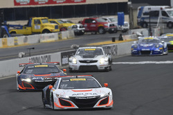 #93 RealTime Racing Acura NSX GT3: Peter Kox, #43 RealTime Racing Acura NSX GT3: Ryan Eversley