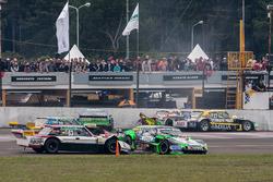 Omar Martinez, Martinez Competicion Ford, Gaston Mazzacane, Coiro Dole Racing Chevrolet, Mathias Nol