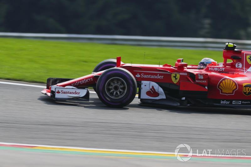 Giro 17 - Kimi Raikkonen, Ferrari SF70H