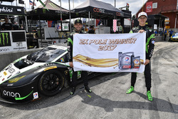 Polesitters GTD Corey Lewis, Jeroen Mul, Change Racing