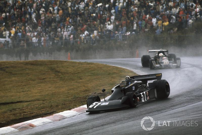 長谷見昌弘(1976年F1世界選手権イン・ジャパン:予選10番手/決勝11位)