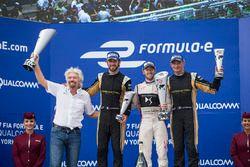 Richard Branson, Sam Bird, DS Virgin Racing, Jean-Eric Vergne, Techeetah, Stéphane Sarrazin, Techeet