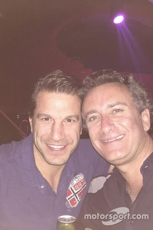 Marco Parroni e Alejandro Agag