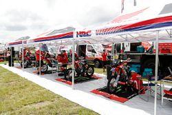 Zona de Monster Energy Honda Team