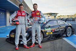 Лоик Дюваль и Рене Раст, Audi RS 5 DTM