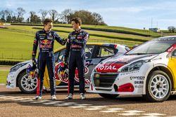 Timmy Hansen, Team Peugeot Hansen; Kevin Hansen, Team Peugeot Hansen