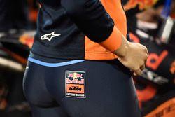 Hot Red Bull KTM Factory Racing girl detail