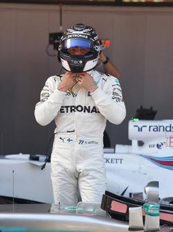 Valtteri Bottas, Mercedes AMG F1 en parc ferme