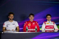 Luca Ghiotto, RUSSIAN TIME, Charles Leclerc, PREMA Powerteam, Nyck De Vries, Rapax
