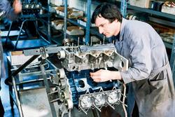 Construcción del motor de Fórmula 1