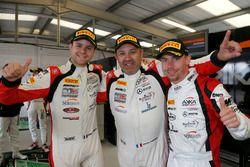 Pole position Pro-Am for #87 Akka ASP, Mercedes-AMG GT3: Jean-Luc Beaubelique, Jules Gounon, Nico Bastian