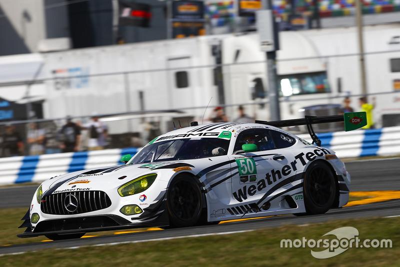 #50 Riley Motorsports Mercedes AMG GT3: Gunnar Jeannette, Cooper MacNeil, Shane van Gisbergen, Thomas Jaeger