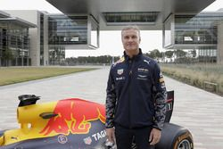David Coulthard, Red Bull RB7 at the ExxonMobil headquarters
