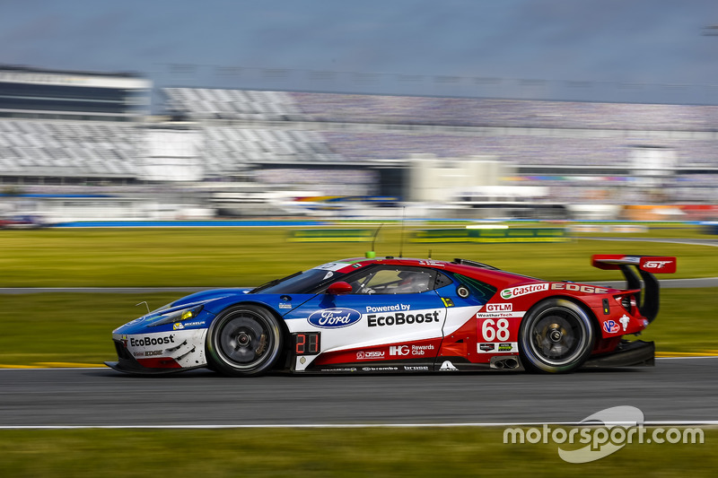 7. GTLM: #68 Ford Performance Chip Ganassi Racing, Ford GT