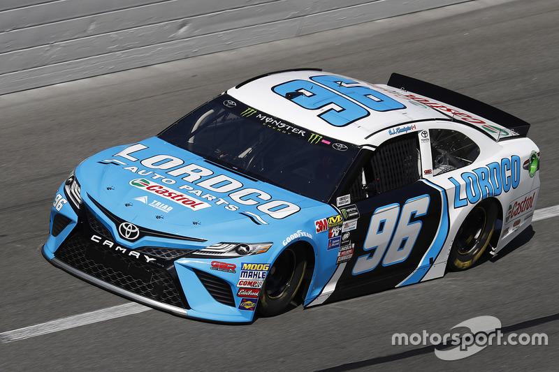 Unfall: D. J. Kennington, Gaunt Brothers Racing, Toyota