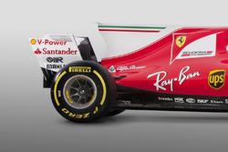 Ferrari SF70H: Seitenkasten, Motorhaube, Heckflügel