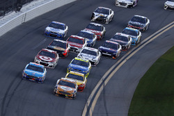 Cole Whitt, TriStar Motorsports Ford leads