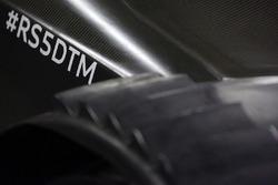 Détail de l'Audi RS 5 DTM