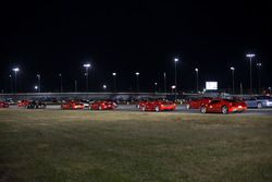Cars at the Ferrari parade
