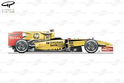 Renault R30, вид сбоку