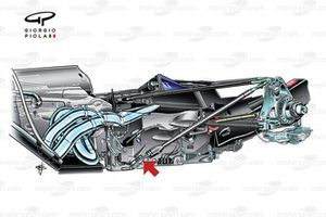 Red Bull RB5 2009 arka süspansiyon detay
