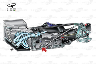 Red Bull RB5 2009 rear suspension detail