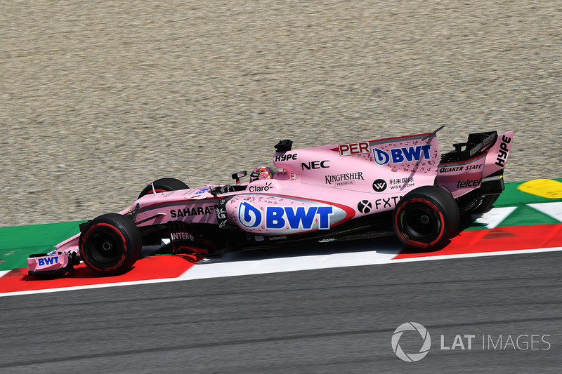 7. Серхіо Перес, Sahara Force India VJM10