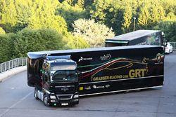 Grasser Racing transporter