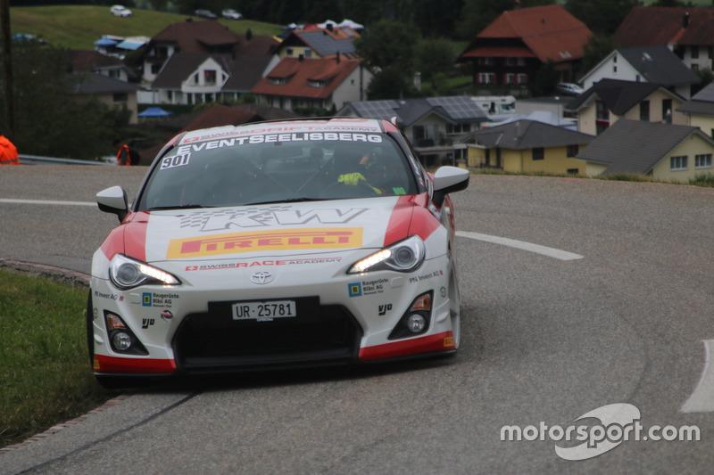 Lukas Eugster, Toyota GT86, Swiss Race Academy