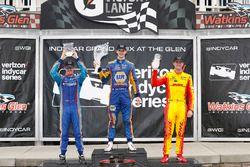 Podium: 1. Alexander Rossi, Herta - Andretti Autosport Honda; 2. Scott Dixon, Chip Ganassi Racing Ho