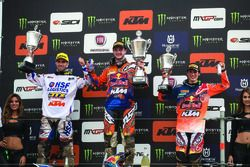 Podio: Jeffrey Herlings, Jorge Prado, KTM Factory Racing