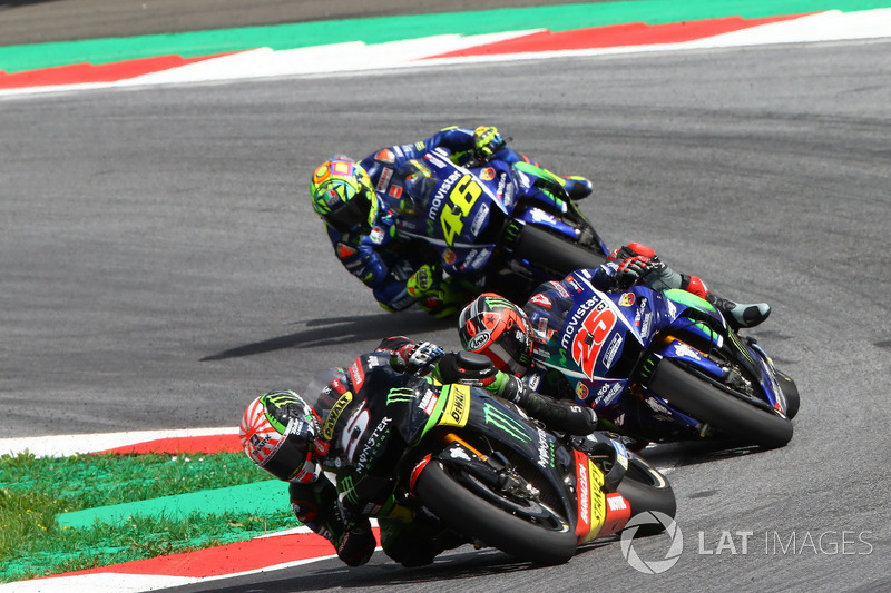 Johann Zarco, Monster Yamaha Tech 3, Maverick Viñales, Yamaha Factory Racing, Valentino Rossi, Yamaha Factory Racing