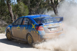Molly Taylor, Bill Hayes, Subaru WRX STI, Subaru do Motorsport team