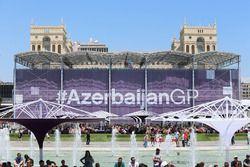 Атмосфера Гран При Азербайджана