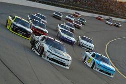 Tyler Reddick, Chip Ganassi Racing Chevrolet, Daniel Hemric, Richard Childress Racing Chevrolet