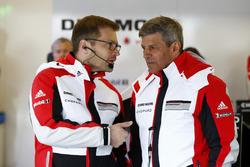 Andreas Seidl, Team principal Porsche Team LMP, Fritz Enzinger, Direttore Porsche Team LMP