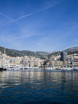 A view of Monaco from Port Hercules
