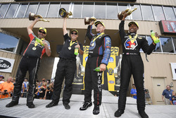 1. Pro Stock Bike: Eddie Krawiec; 1. Pro Stock: Drew Skillman; 1. Funny Car: Robert Hight; 1. Top Fu