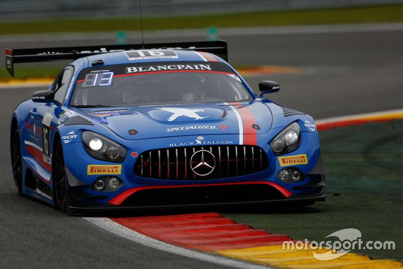 12. #16 Black Falcon, Mercedes-AMG GT3