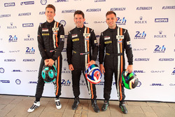 Michael Wainwright, Ben Barker, Nick Foster, Gulf Racing