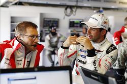 Andreas Seidl, Chef de l'équipe Porsche LMP1, Neel Jani, Porsche Team