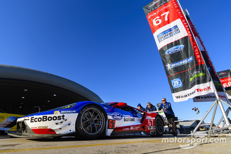 Preparazione del Team Ford Performance Chip Ganassi Racing