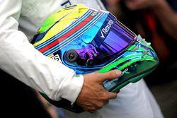 Helmet of Felipe Massa, Williams