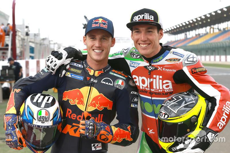 Pol and Aleix Espargaro, Aprilia Racing Team Gresini